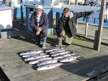 The Catch with Famous Ray's Fishing Charters
